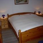 Schlafzimmer - Ferienwohnung Meerblick